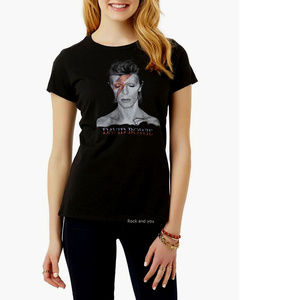 David Bowie Aladdin Sane Girls Tee S M L XL NWT